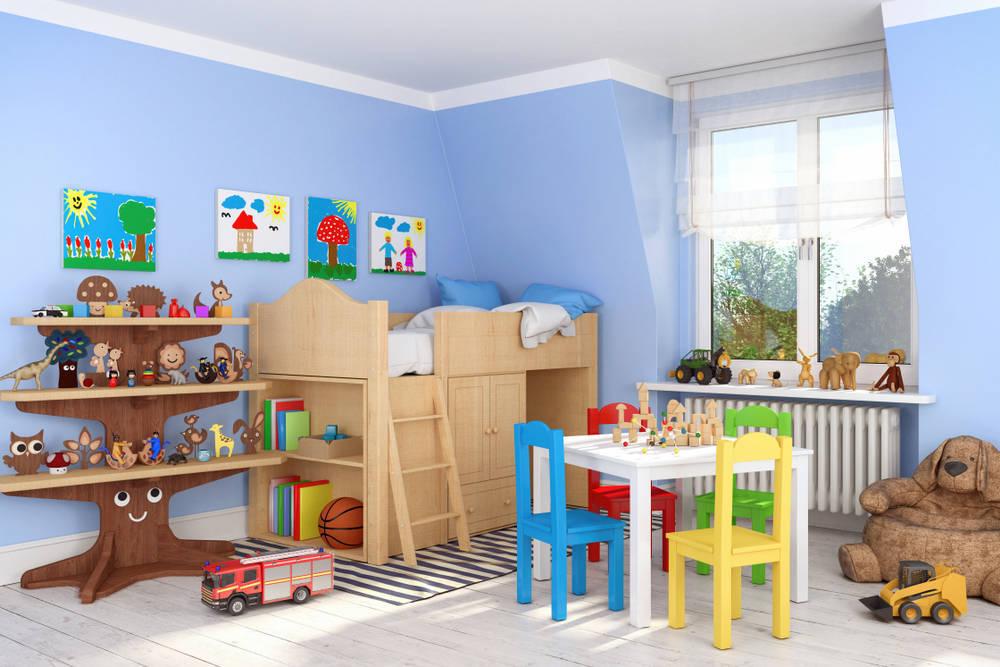 Cómo decorar una habitación de niños