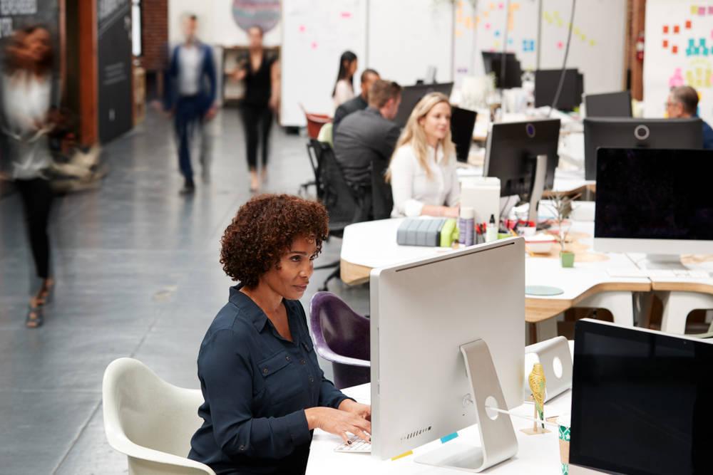 Soluciones para una empresa: dividir el espacio
